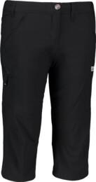 Čierne dámske ľahké outdoorové kraťasy FACILITY - NBSPL5544