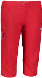 Červené dámske ľahké outdoorové kraťasy FACILITY - NBSPL5544