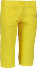 Žlté dámske ľahké kraťasy SURE - NBSPL5671