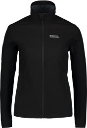 Women's black light softshell jacket BASIC - NBSSL6112