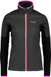 Women's grey light softshell jacket BASIC - NBSSL6112