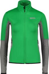 Women's green power fleece jacket TRACK - NBSFL6170