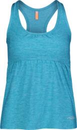 Kék női trikó jógára BOW - NBSLF6187