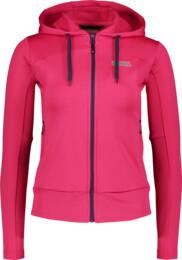 Women's pink power fleece jacket HABIT - NBSLS6203