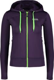 Women's violet power fleece jacket HABIT - NBSLS6203