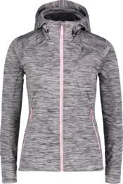 Women's grey light softshell jacket BYGONE - NBSSL6619