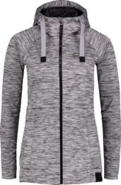 Šedý dámský jarní softshellový kabát SPLENDID - NBSSL6621