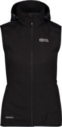 Vestă ușoară neagră softshell pentru femei SHREWD - NBSSL6625