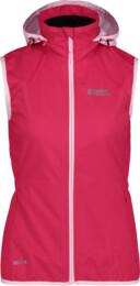 Růžová dámská lehká softshellová vesta SHREWD - NBSSL6625