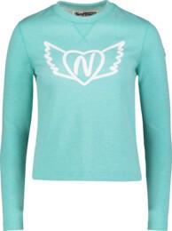 Women's blue sweatshirt FLIT