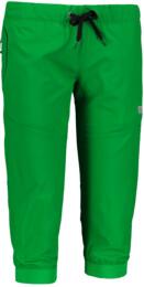 Zelené dámské lehké sportovní kraťasy SUPPLE - NBSPL6135