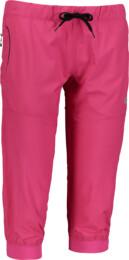 Ružové dámske ľahké športové kraťasy SUPPLE