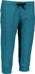 Zelené dámske ľahké športové kraťasy SUPPLE - NBSPL6135