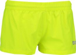Șorturi galbene de alergat pentru femei CUBE - NBSPL6180