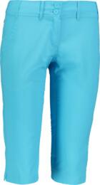 Modré dámské lehké kraťasy SLENDER - NBSPL6245