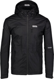 Men's black outdoor jacket LOCK - NBSJM6601