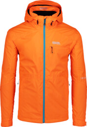 Men's orange outdoor jacket LOCK - NBSJM6601