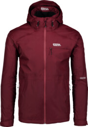 Men's wine red outdoor jacket LOCK - NBSJM6601
