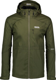 Zelená pánská outdoorová bunda LOCK - NBSJM6601
