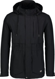 Men's black waterproof outdoor jacket LIKER - NBSJM6602