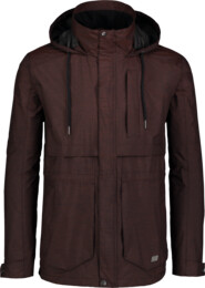 Men's brown waterproof outdoor jacket LIKER - NBSJM6602