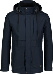 Men's blue waterproof outdoor jacket LIKER - NBSJM6602