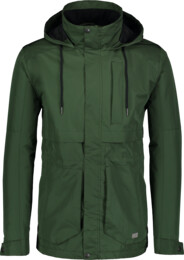 Men's green waterproof outdoor jacket LIKER - NBSJM6602