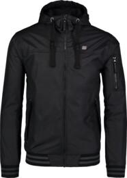 Černá pánská jarní bunda OPULENT - NBSJM6604