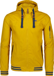 Men's yellow waterproof outdoor jacket OPULENT - NBSJM6604