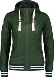 Zelená dámská jarní bunda IMMENSE - NBSJL6617