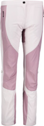 Ružové dámske ultraľahké outdoorové nohavice LENIENT - NBSPL6642