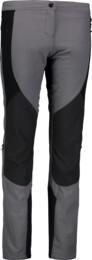 Šedé dámske ultraľahké outdoorové nohavice LENIENT - NBSPL6642