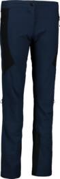Modré dámske ultraľahké outdoorové nohavice LENIENT - NBSPL6642