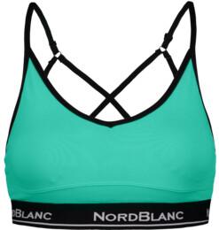 Women's green fitness bra RAKISH - NBSLF6669