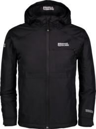 Čierna detská outdoorová bunda IMBUED - NBSJK6783S