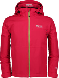 Červená dětská outdoorová bunda IMBUED - NBSJK6783S
