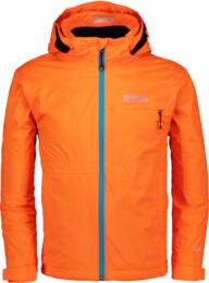 Oranžová dětská outdoorová bunda IMBUED - NBSJK6783S