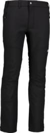 Čierne pánske ľahké softshellové nohavice VAST - NBSPM6830