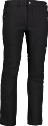 Men's black light softshell pants VAST - NBSPM6830