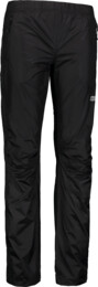 Women's black fullzip waterproof pants TOPICAL - NBSPL6832