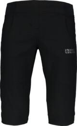 Čierne detské ultraľahké outdoorové kraťasy HOMEY - NBSPK6849L