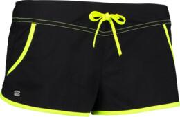 Černé dámské plážové šortky SHINE - NBSPL6252