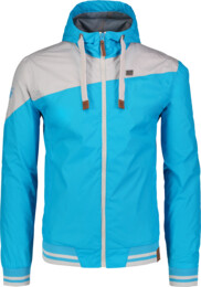 Men's blue waterproof outdoor jacket TRYST - NBSJM6261