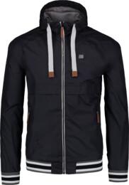 Černá pánská jarní bunda REUNION - NBSJM6262