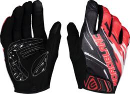 Červené cyklistické rukavice HILLTOP - NBWG6362