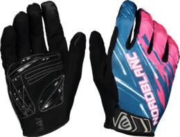 Růžové cyklistické rukavice HILLTOP - NBWG6362