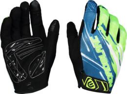 Zelené cyklistické rukavice HILLTOP - NBWG6362