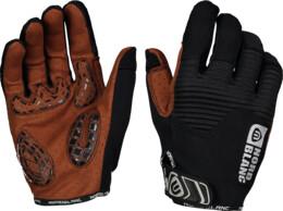 Černé pánské cyklistické rukavice BREACH - NBWG6363