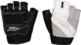 Women's grey bike gloves SPEEDSTER - NBSG6366