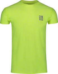 Žlté pánske fitness tričko POUNCE - NBSMF6656